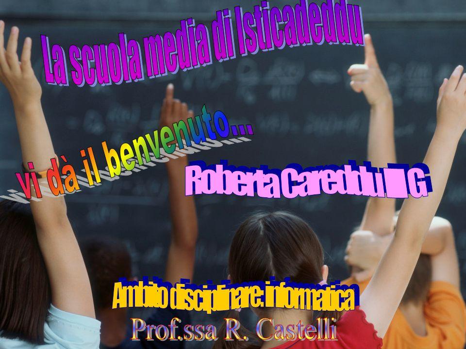 La scuola media di Isticadeddu