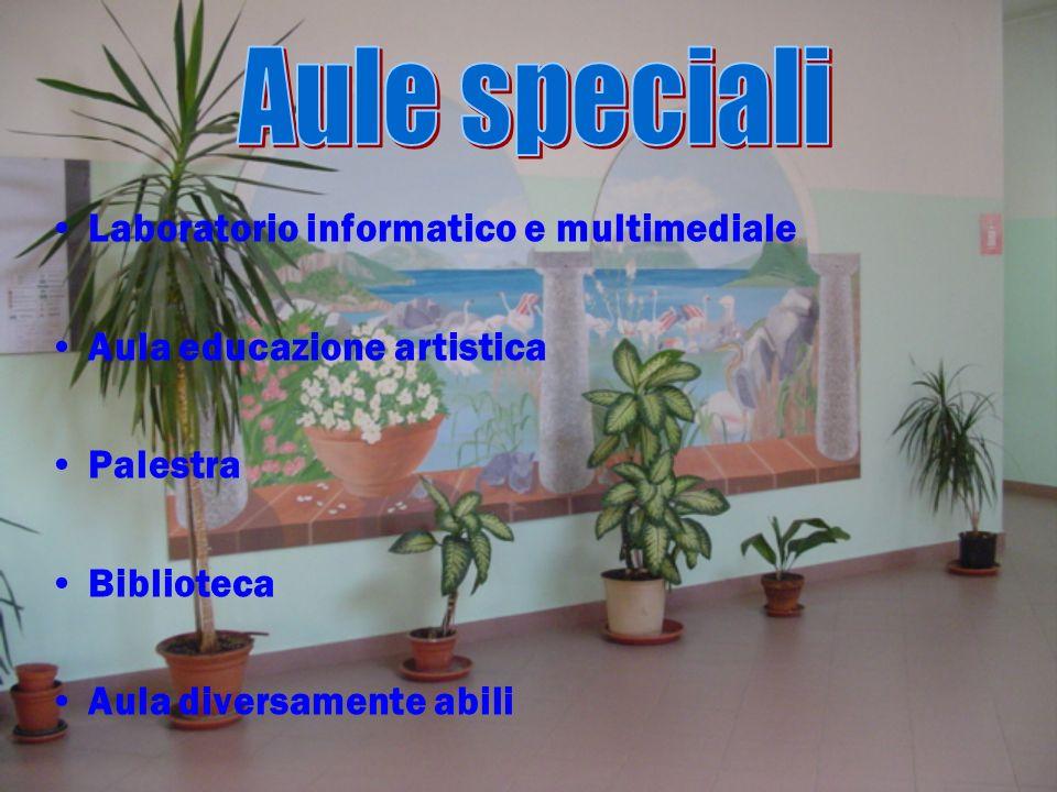 Aule speciali Laboratorio informatico e multimediale