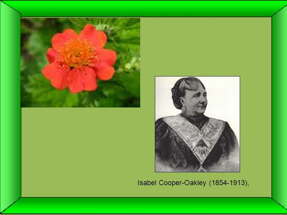 Isabel Cooper-Oakley (1854-1913),