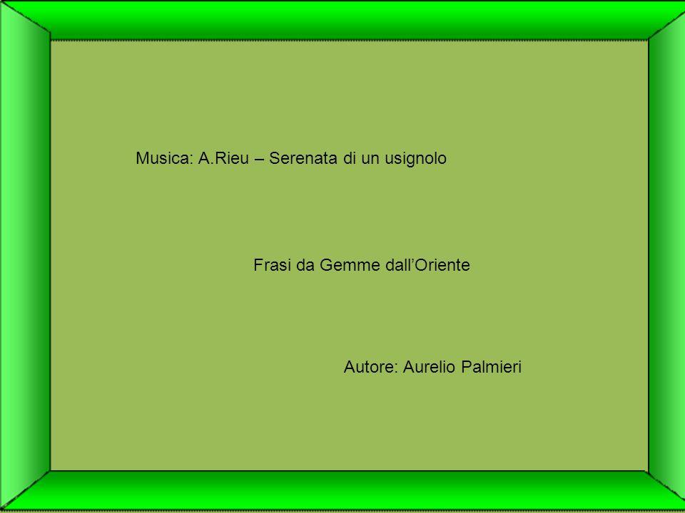 Musica: A.Rieu – Serenata di un usignolo
