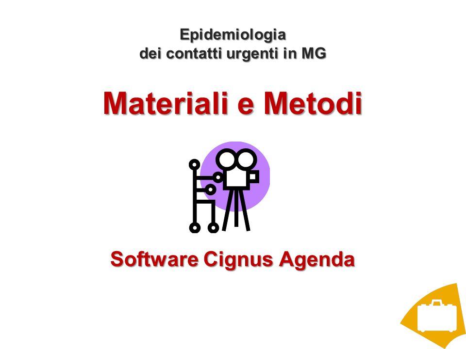 Epidemiologia dei contatti urgenti in MG