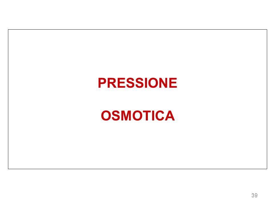 PRESSIONE OSMOTICA 39