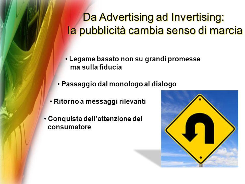 Da Advertising ad Invertising: la pubblicità cambia senso di marcia