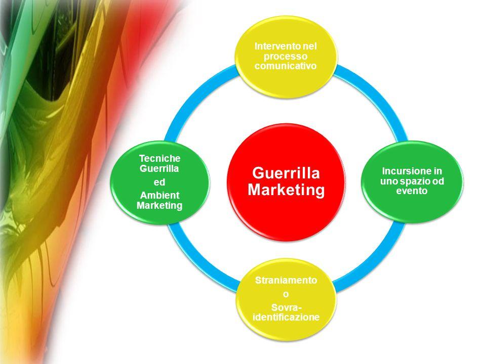 Guerrilla Marketing Straniamento Tecniche Guerrilla