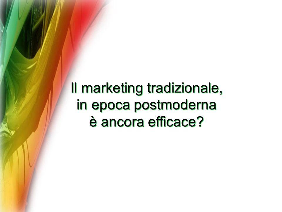 Il marketing tradizionale,