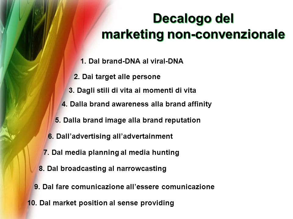 marketing non-convenzionale