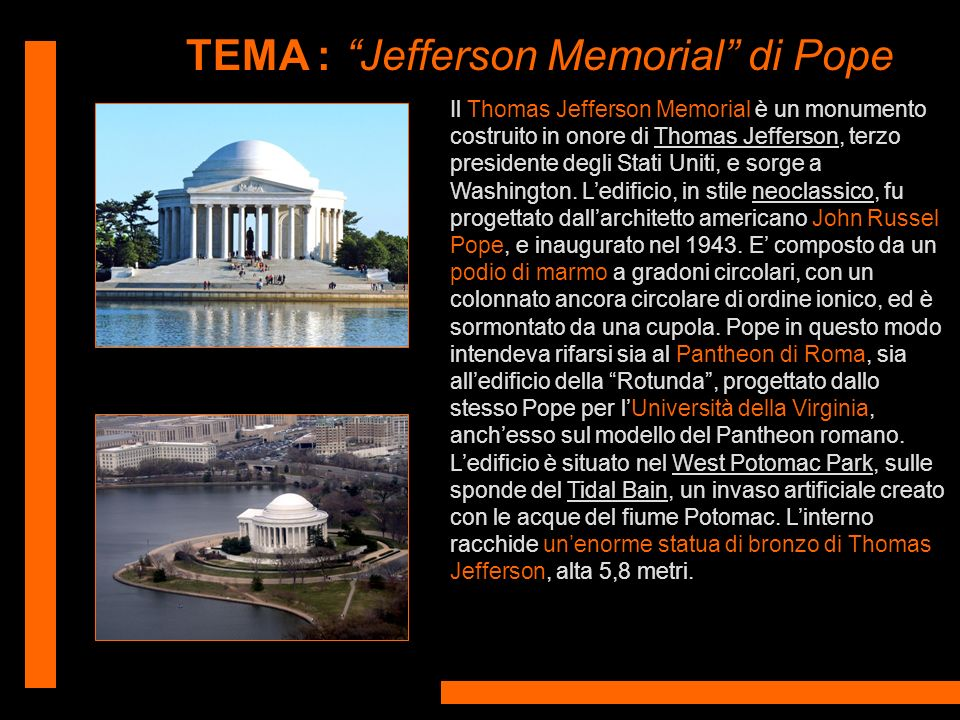 Jefferson Memorial di Pope