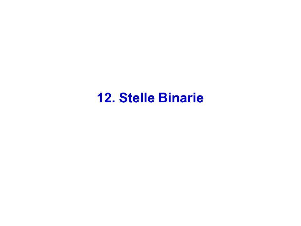 12. Stelle Binarie