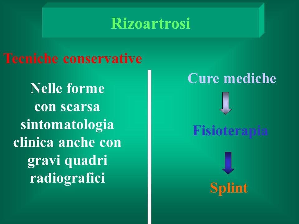 con scarsa sintomatologia clinica anche con gravi quadri radiografici