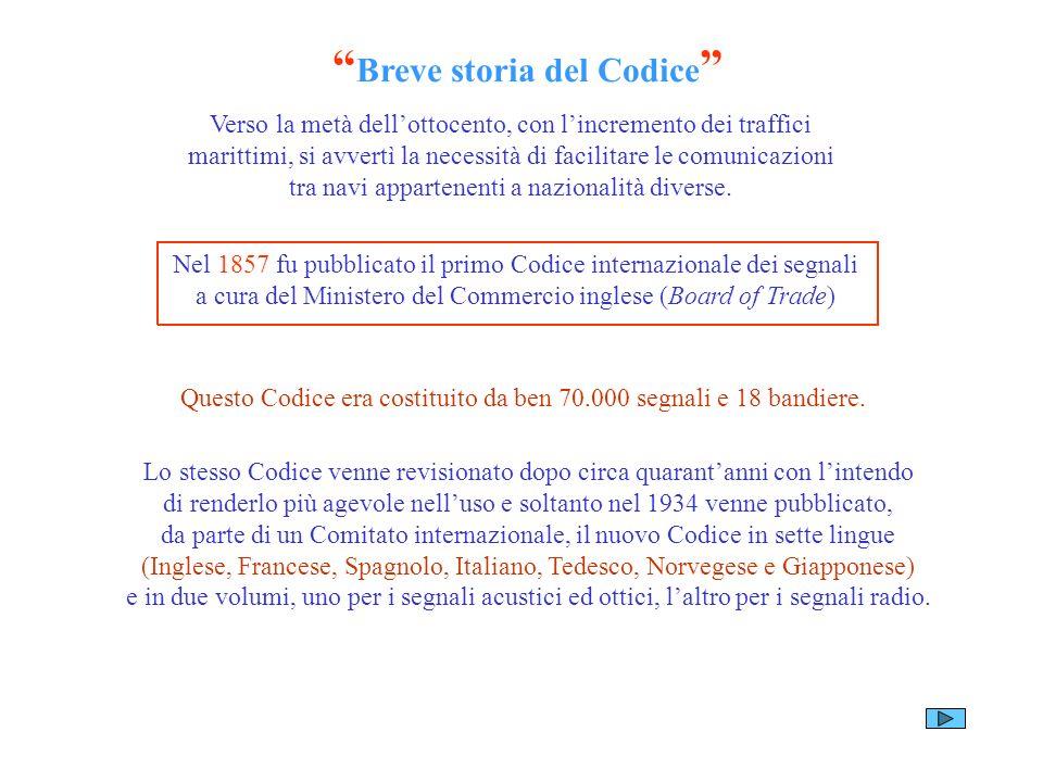 Breve storia del Codice