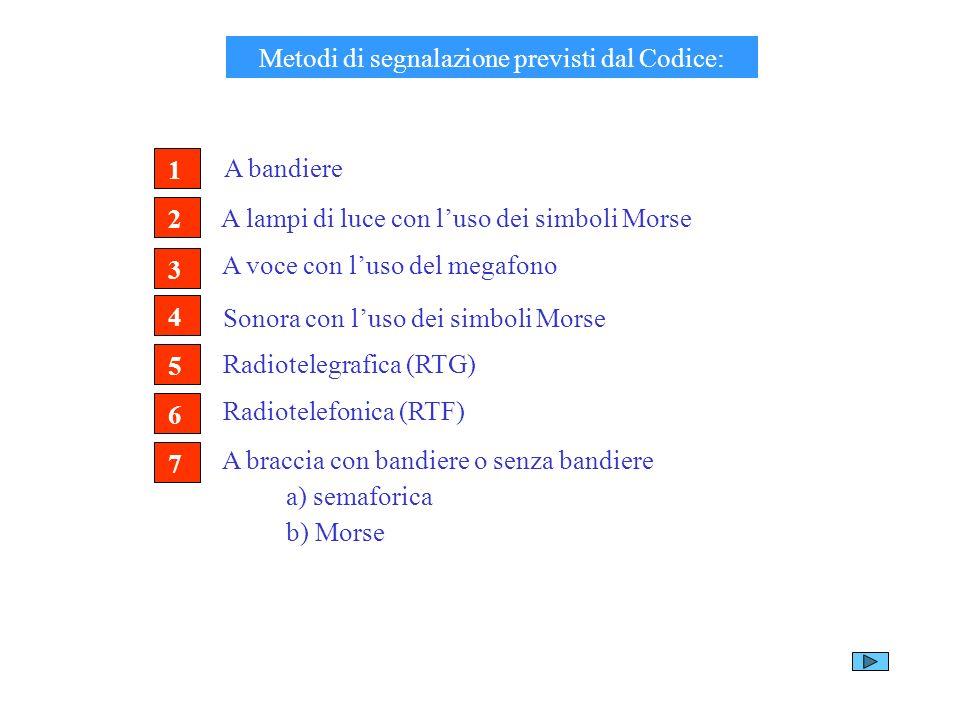 Metodi di segnalazione previsti dal Codice: