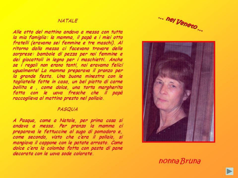 nonna Bruna … nel Veneto … NATALE