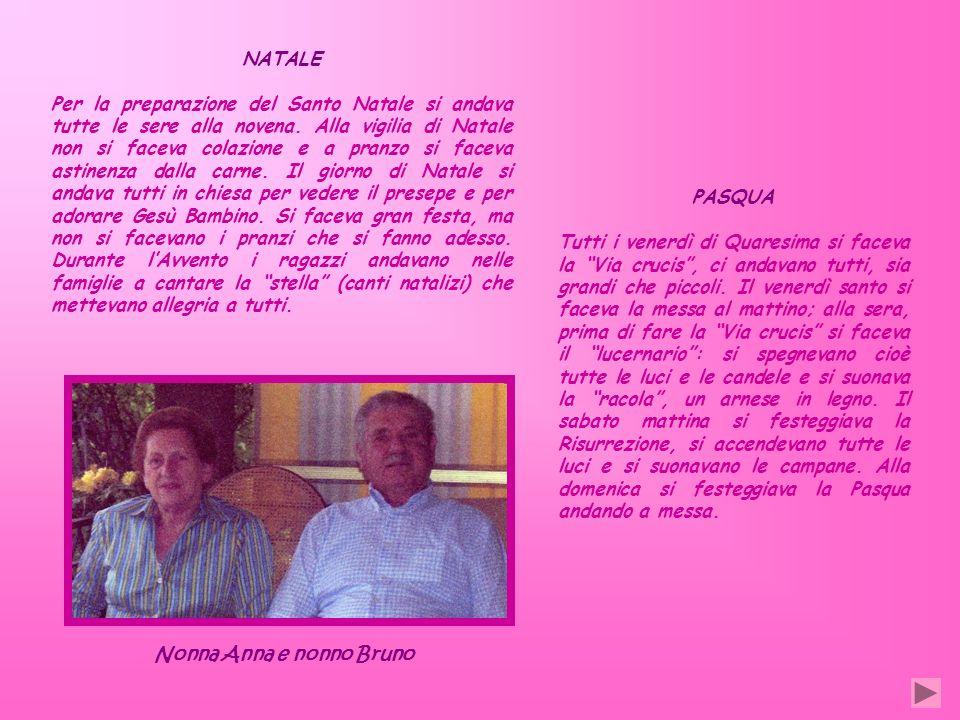 Nonna Anna e nonno Bruno