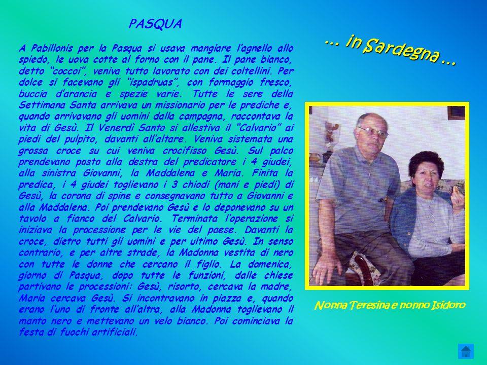 Nonna Teresina e nonno Isidoro