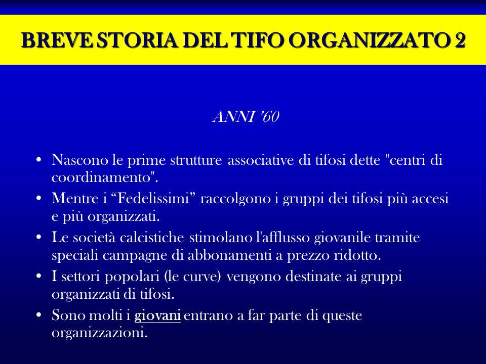 BREVE STORIA DEL TIFO ORGANIZZATO 2