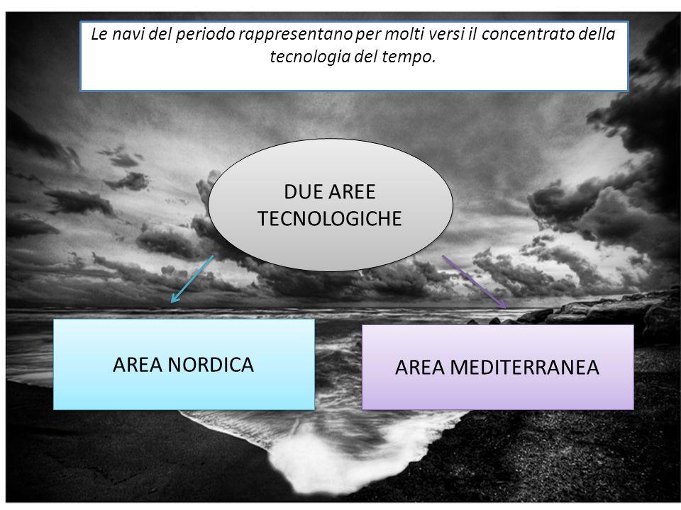 DUE AREE TECNOLOGICHE AREA NORDICA AREA MEDITERRANEA