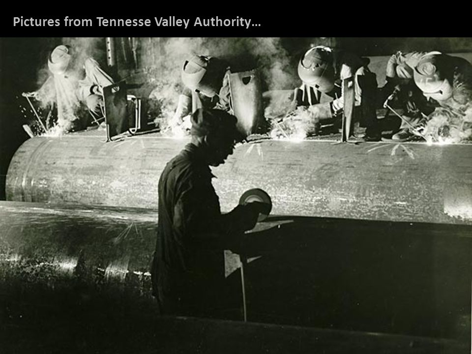 Pictures from Tennesse Valley Authority…