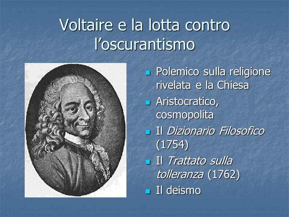 Voltaire e la lotta contro l'oscurantismo