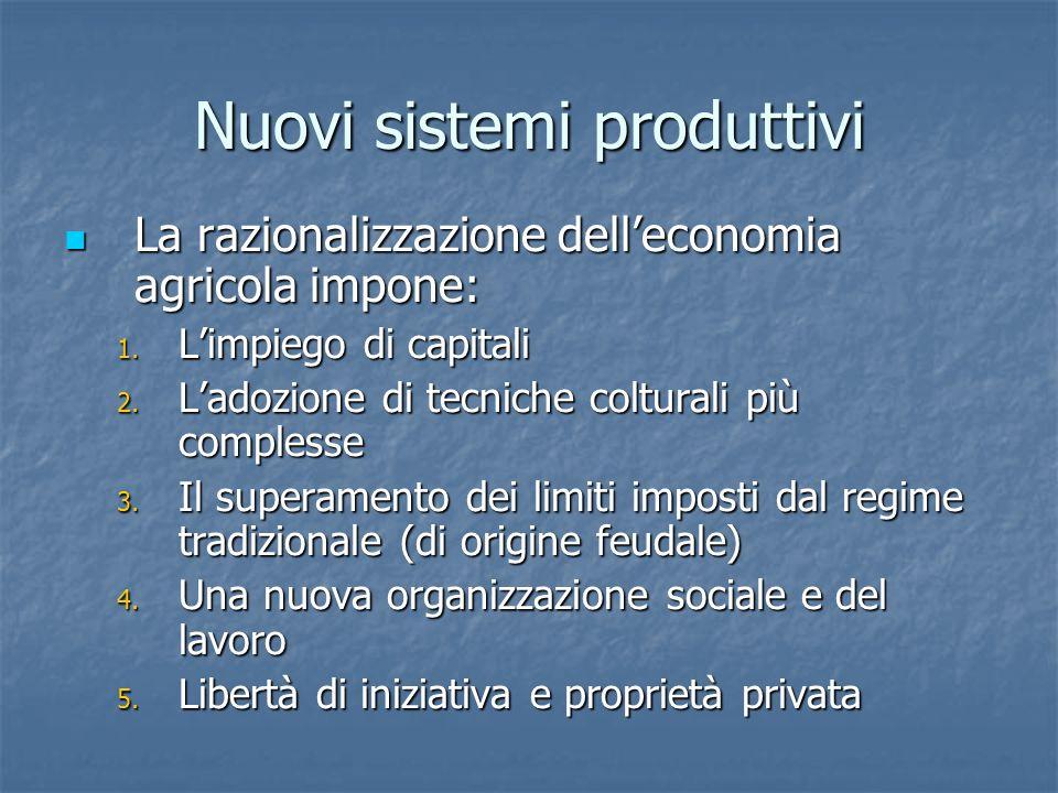 Nuovi sistemi produttivi
