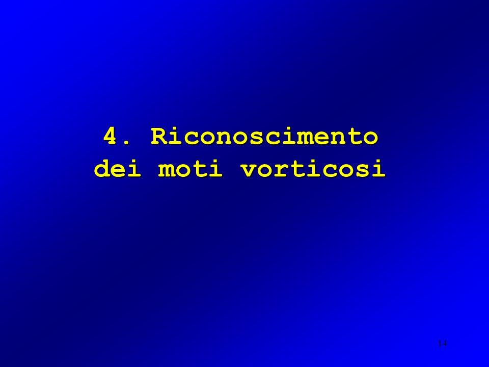 4. Riconoscimento dei moti vorticosi