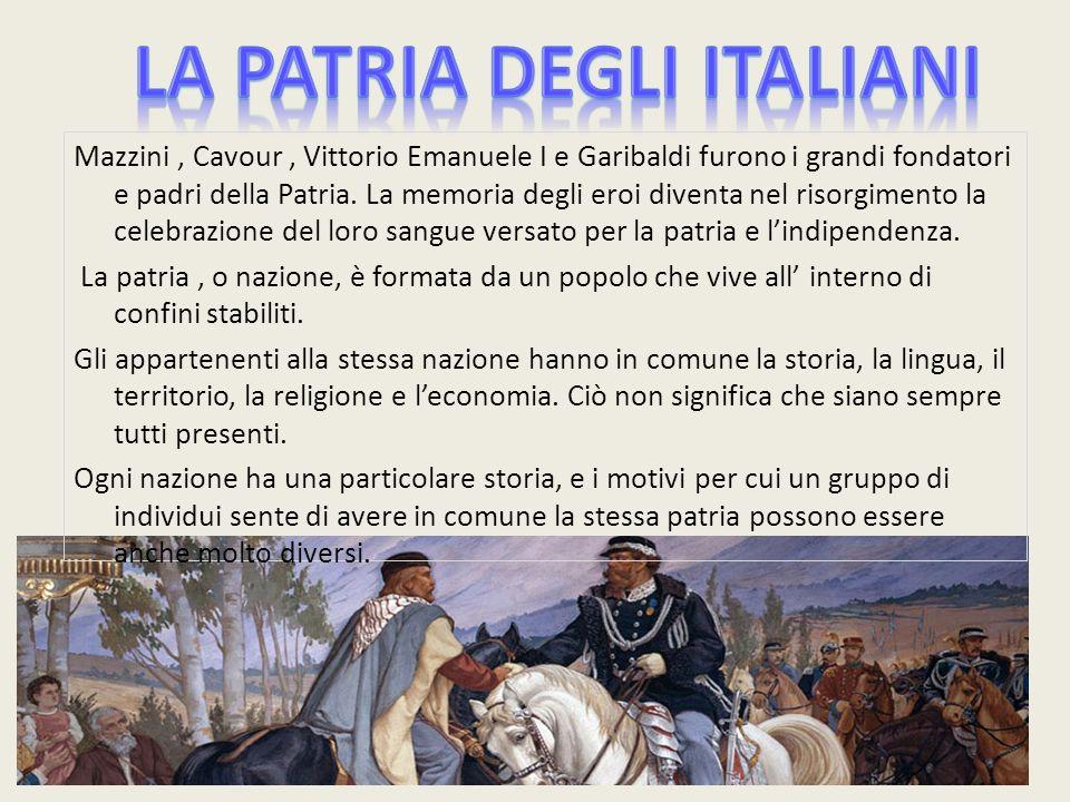 LA PATRIA DEGLI ITALIANI