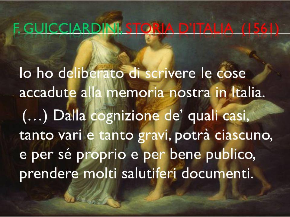 F. guicciardini, storia d'italia (1561)