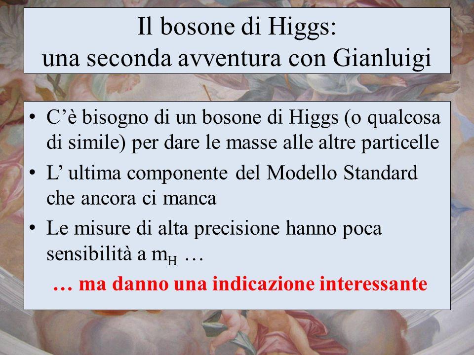 Il bosone di Higgs: una seconda avventura con Gianluigi