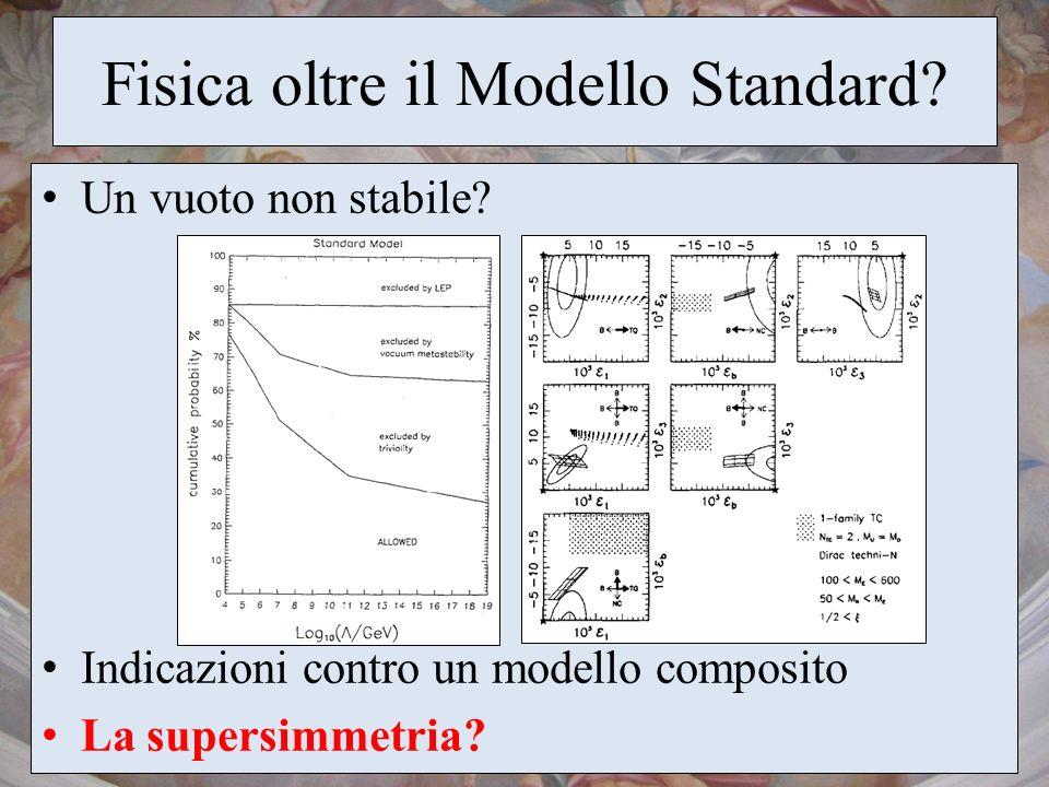 Fisica oltre il Modello Standard