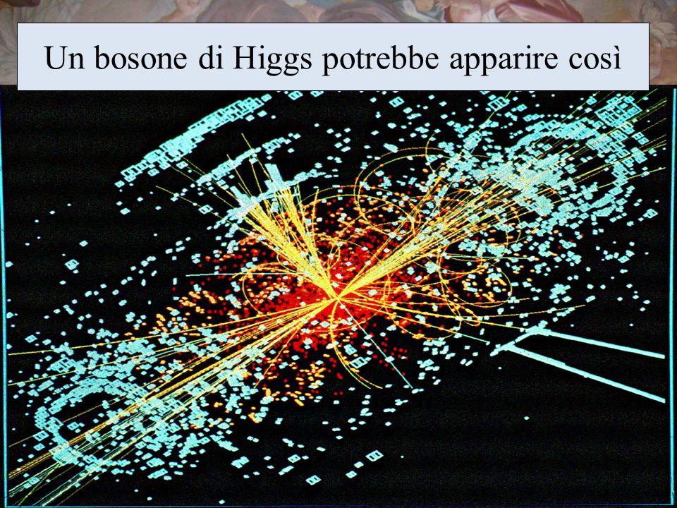 Un bosone di Higgs potrebbe apparire così