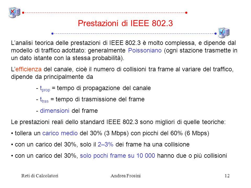 Prestazioni di IEEE 802.3