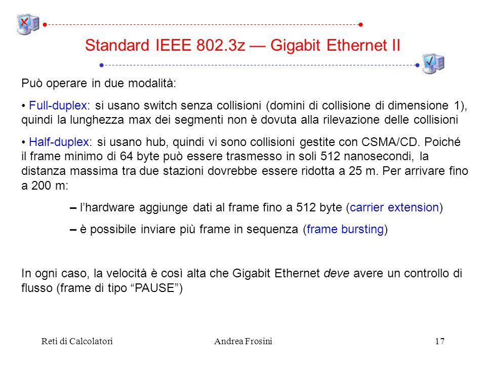 Standard IEEE 802.3z — Gigabit Ethernet II