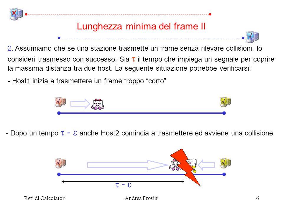 Lunghezza minima del frame II