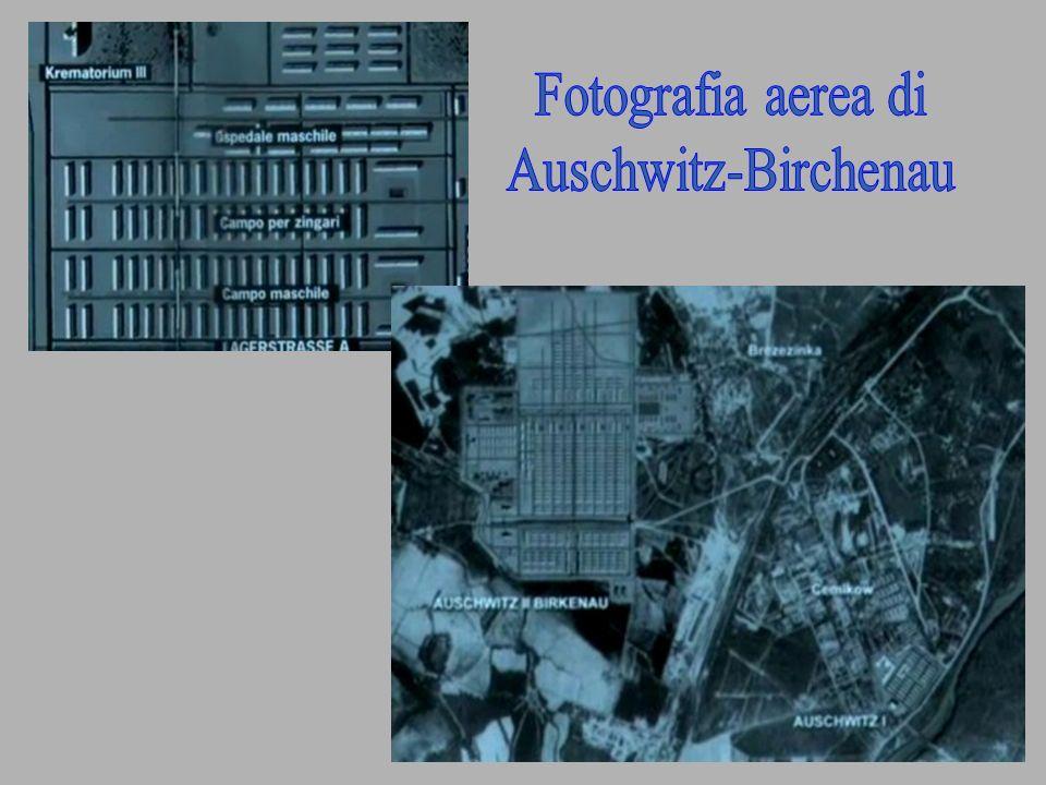 Fotografia aerea di Auschwitz-Birchenau