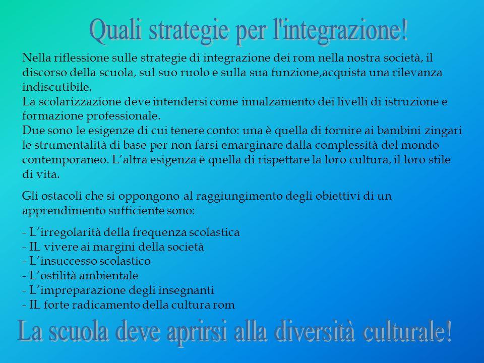 Quali strategie per l integrazione!