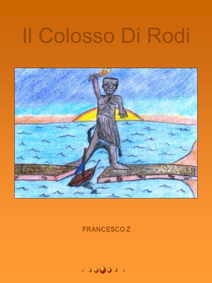 Il Colosso Di Rodi FRANCESCO Z