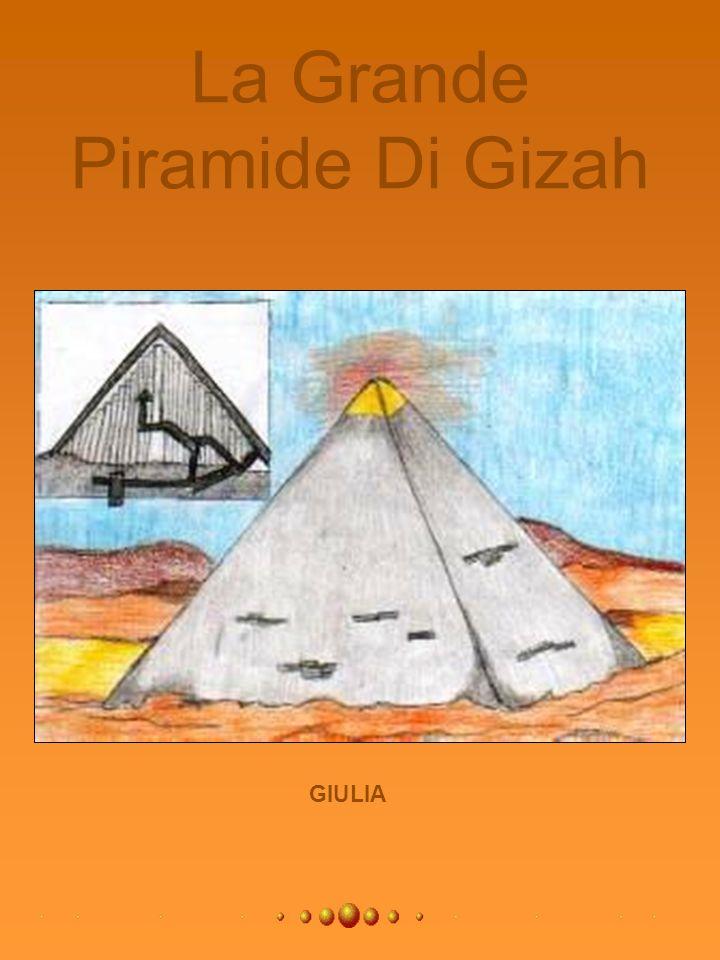 La Grande Piramide Di Gizah