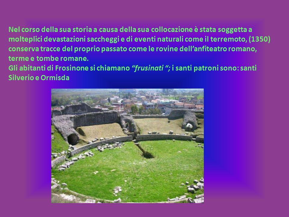 Nel corso della sua storia a causa della sua collocazione è stata soggetta a molteplici devastazioni saccheggi e di eventi naturali come il terremoto, (1350) conserva tracce del proprio passato come le rovine dell'anfiteatro romano, terme e tombe romane.