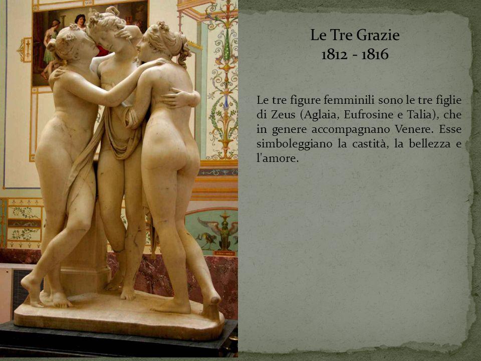 Le Tre Grazie 1812 - 1816.