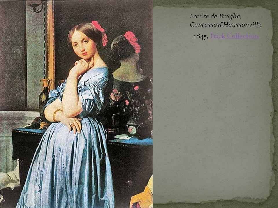 Louise de Broglie, Contessa d Haussonville 1845, Frick Collection