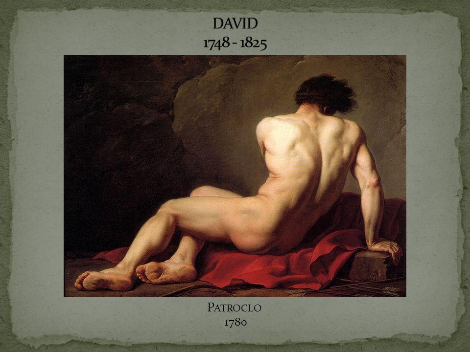 DAVID 1748 - 1825 Patroclo 1780
