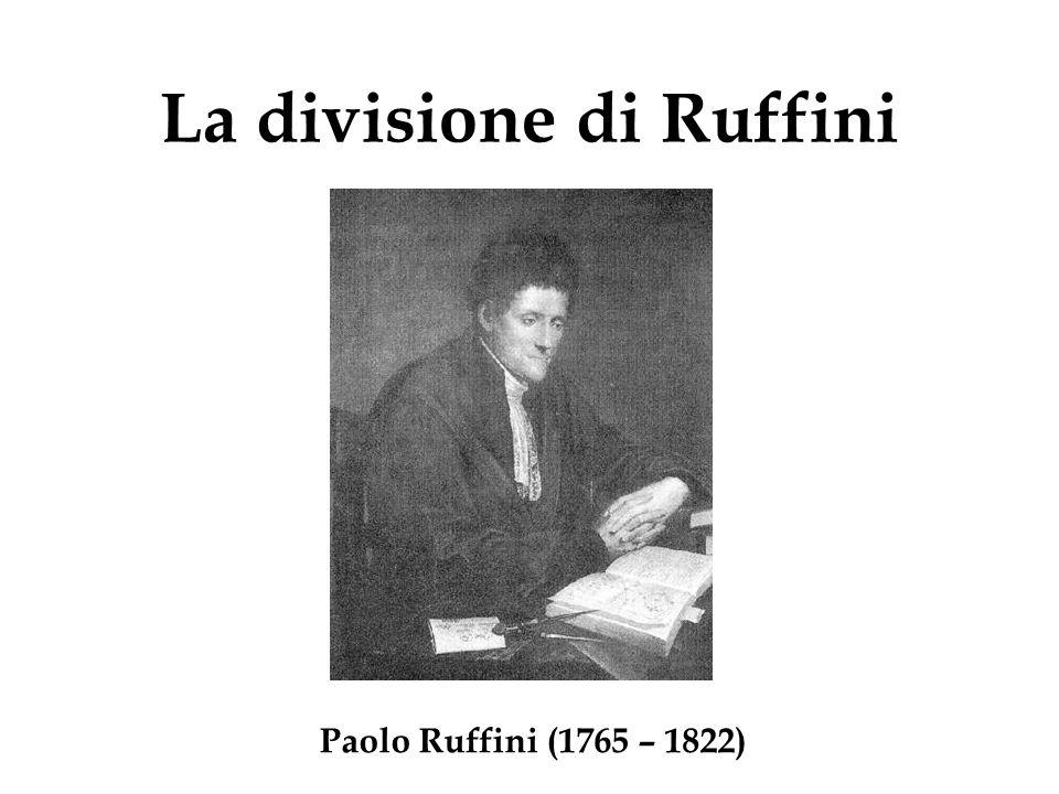 La divisione di Ruffini