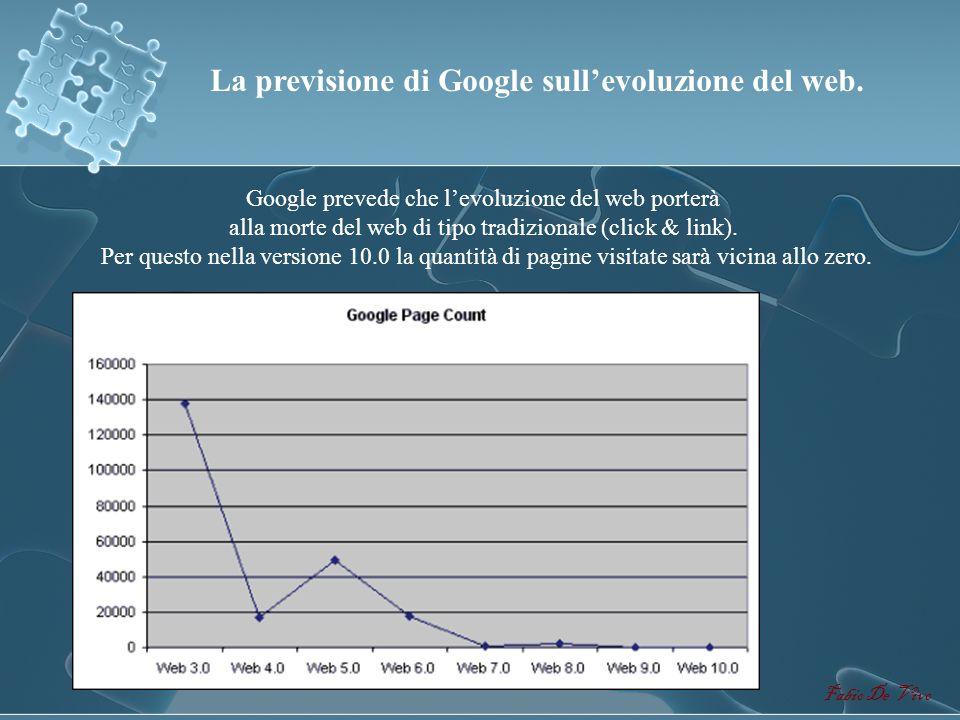 La previsione di Google sull'evoluzione del web.