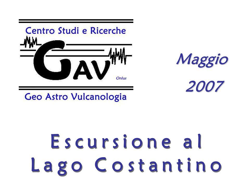 Maggio 2007 Escursione al Lago Costantino