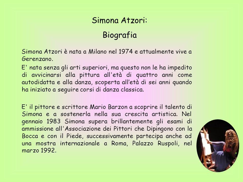 Simona Atzori: Biografia