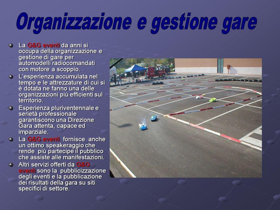 Organizzazione e gestione gare