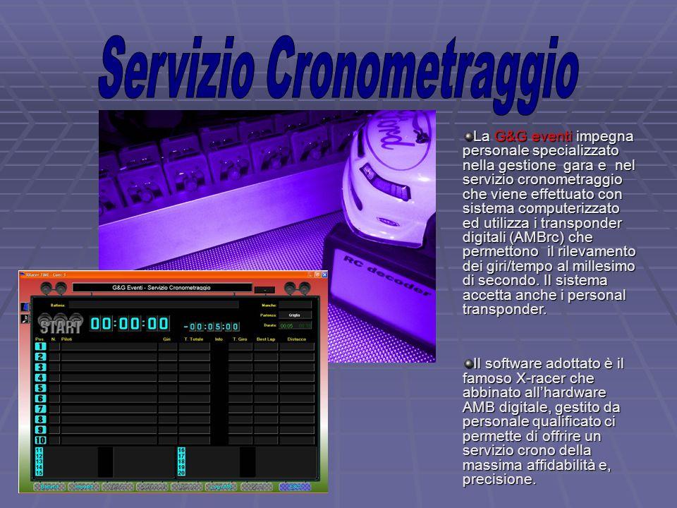 Servizio Cronometraggio