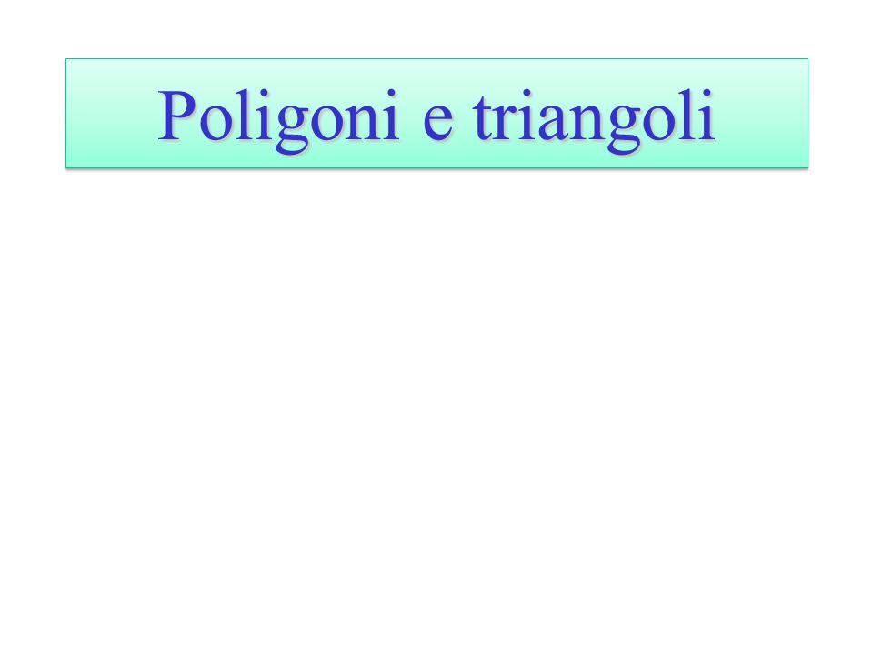 Poligoni e triangoli