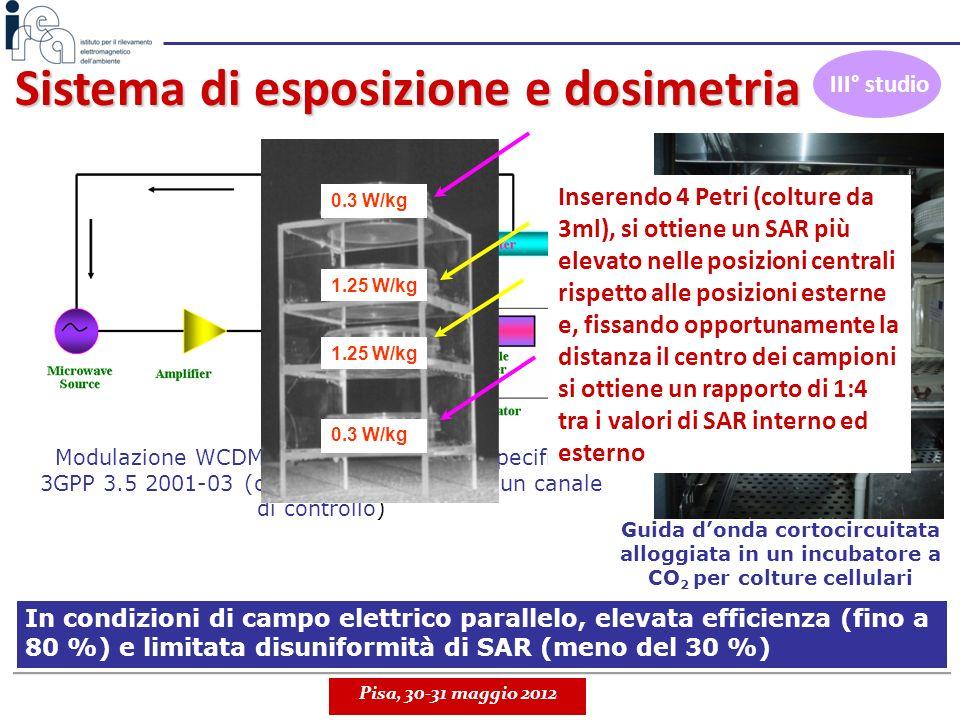 Sistema di esposizione e dosimetria