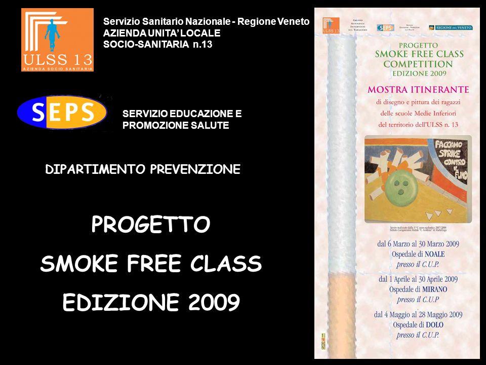 PROGETTO SMOKE FREE CLASS EDIZIONE 2009