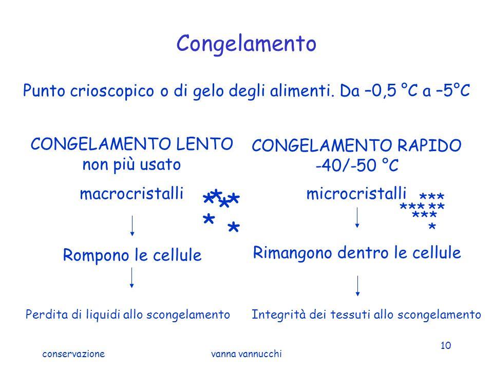 CONGELAMENTO RAPIDO -40/-50 °C